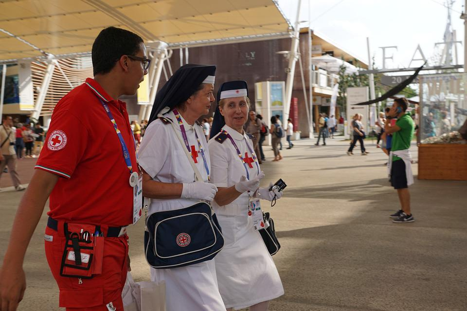Nurse, Physician, Bless You, Red Cross, Sister