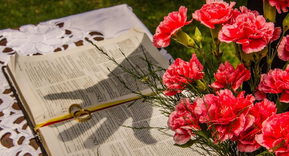 Bible, Alliance, Blessing, Prayer, Flowers