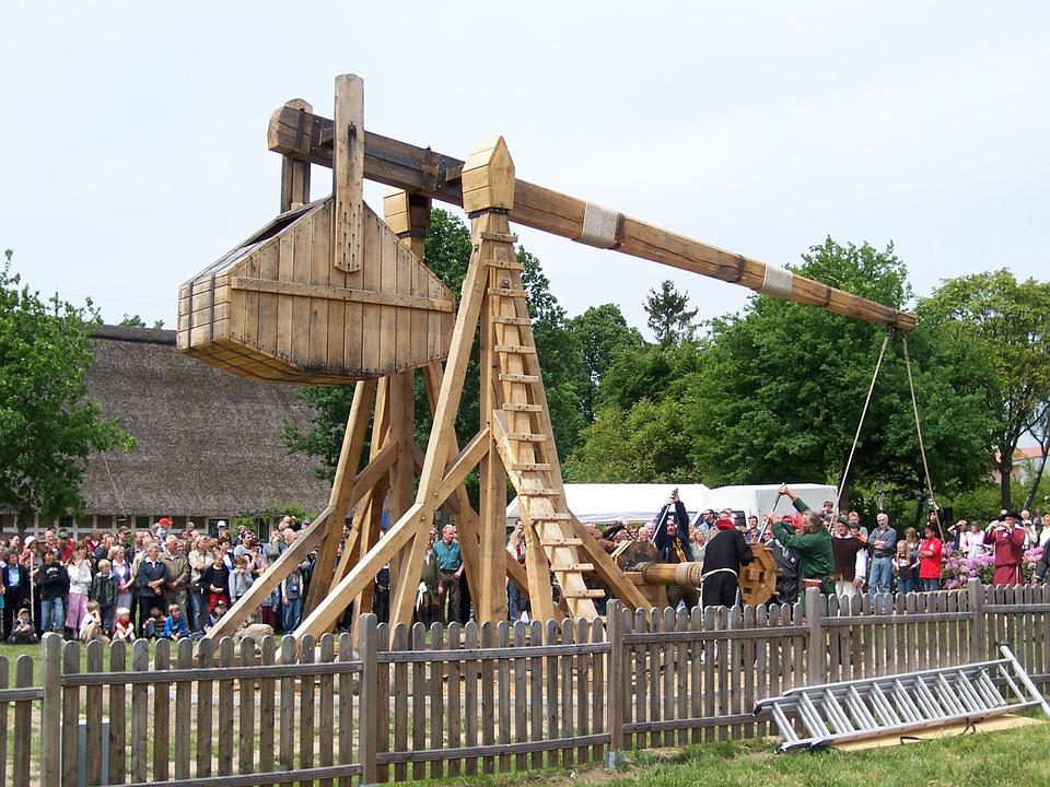 Blide, Catapult, Middle Ages