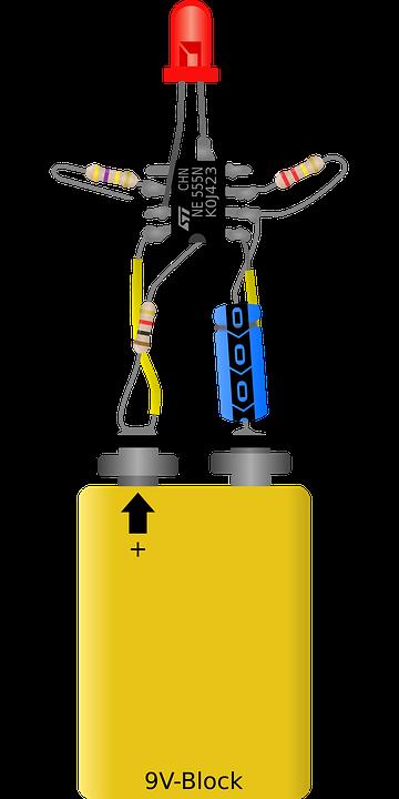 Electronic, Flasher, Blinker, Led, Indicator, Component