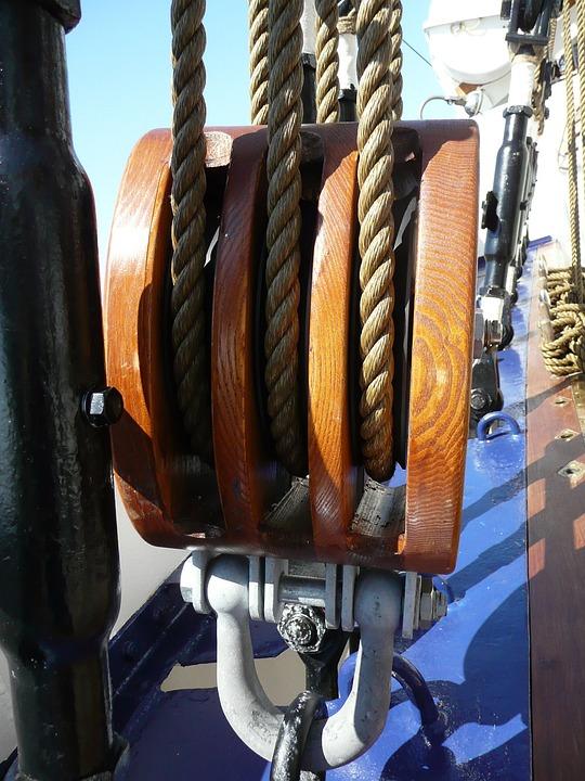 Rigging, Block And Tackle, Sail, Historically