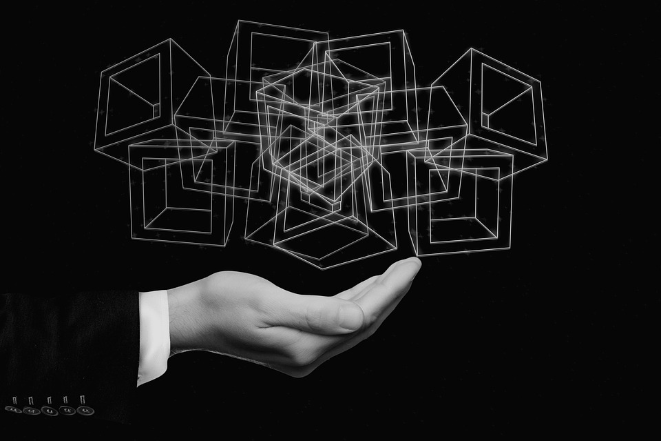 Block Chain, Data, Record, Hand Holding, Blocks