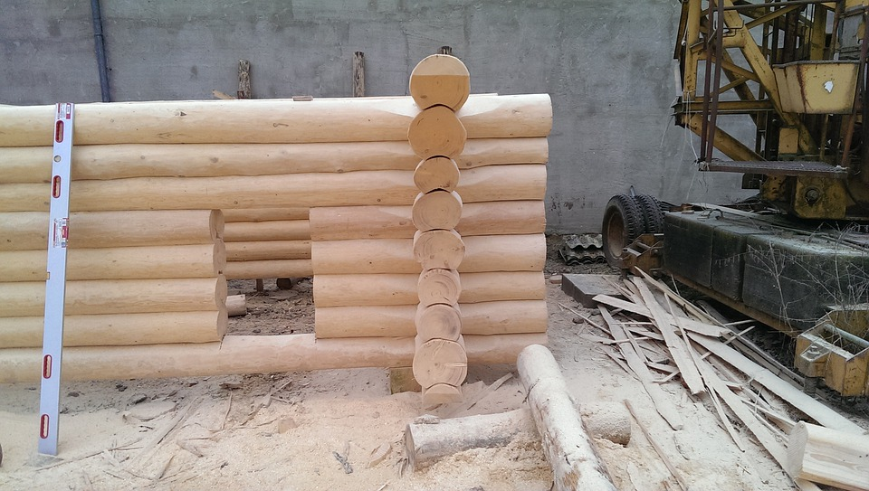 Log House, Garden Shed, Block House, Build Your Own