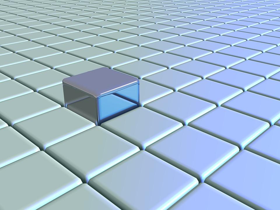 Grid, Block, Cube, Square, Design, Pattern, Geometric