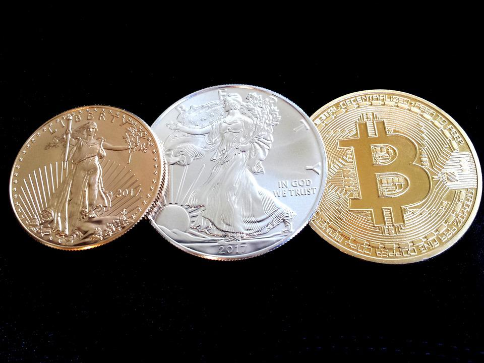 Bitcoin, Gold, Gold Eagle, Precious Metals, Blockchain