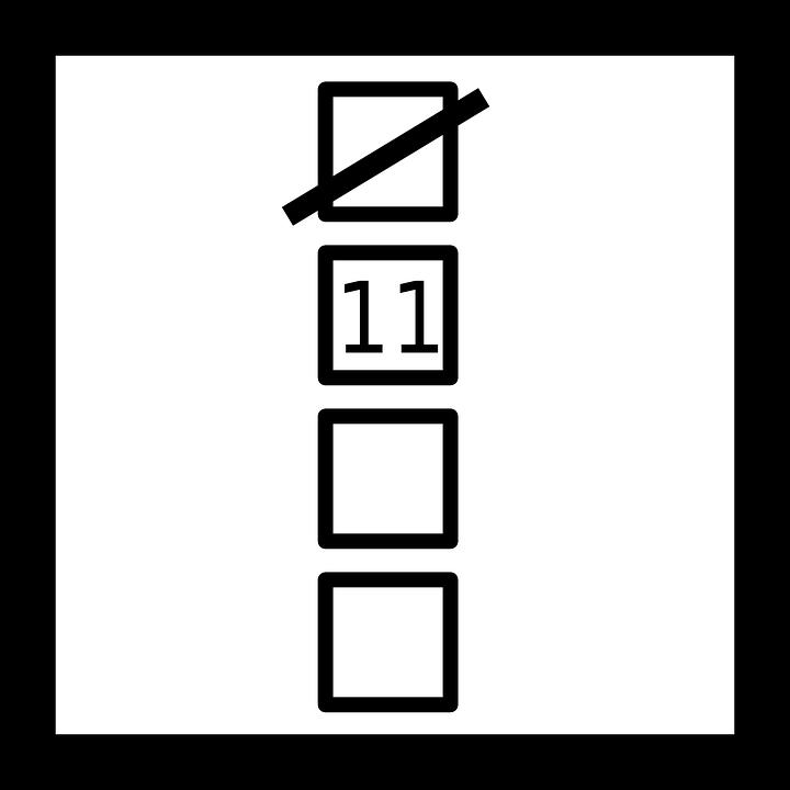 Square, Blocks, Pictogram