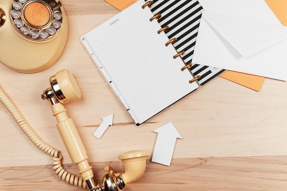Business, Phone, Notebook, Blog, Blogger, Beauty
