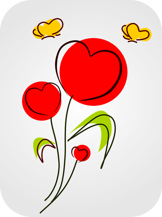 Heart, Love, Flowers, Bloom, Hearts, Valentine, Romance
