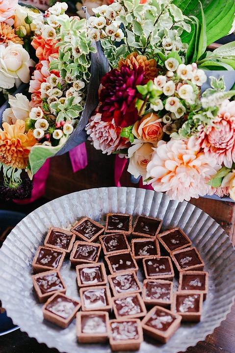 Bloom, Blossom, Chocolates, Decoration, Flora, Flowers