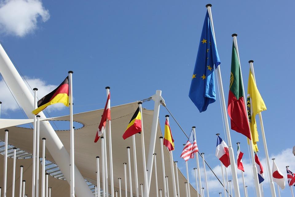 Flags, Lisbon, Flag, Blow, Flutter