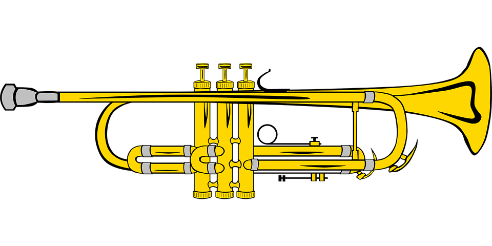 Trumpet, Music, Instrument, Pipe, Blow, Blowing
