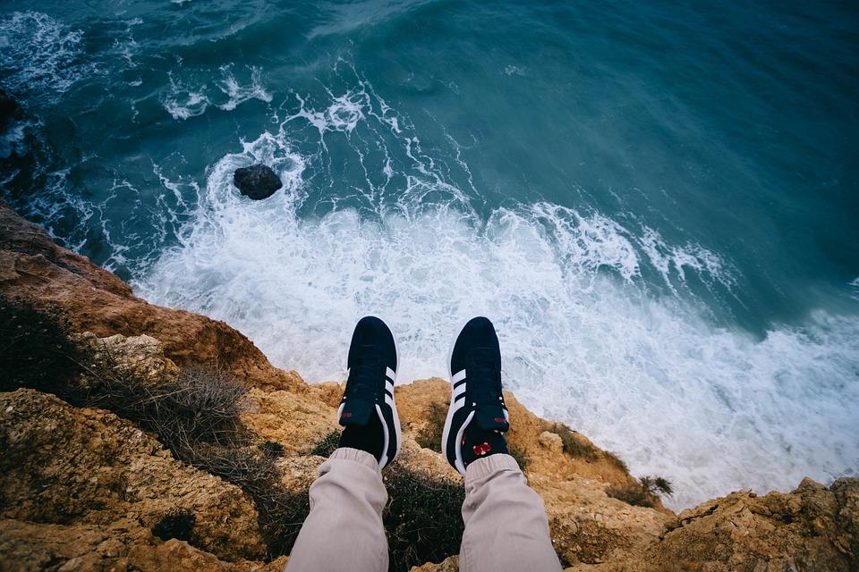Sea, Ocean, Blue, Water, Waves, Nature, Aerial, View