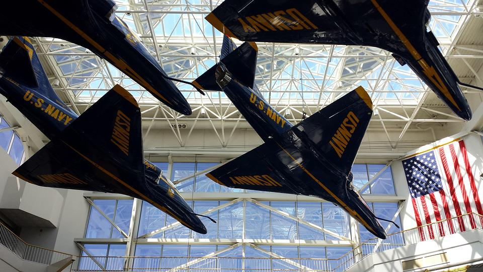 Blue, Angels, Airplanes, Jets, America, Flight