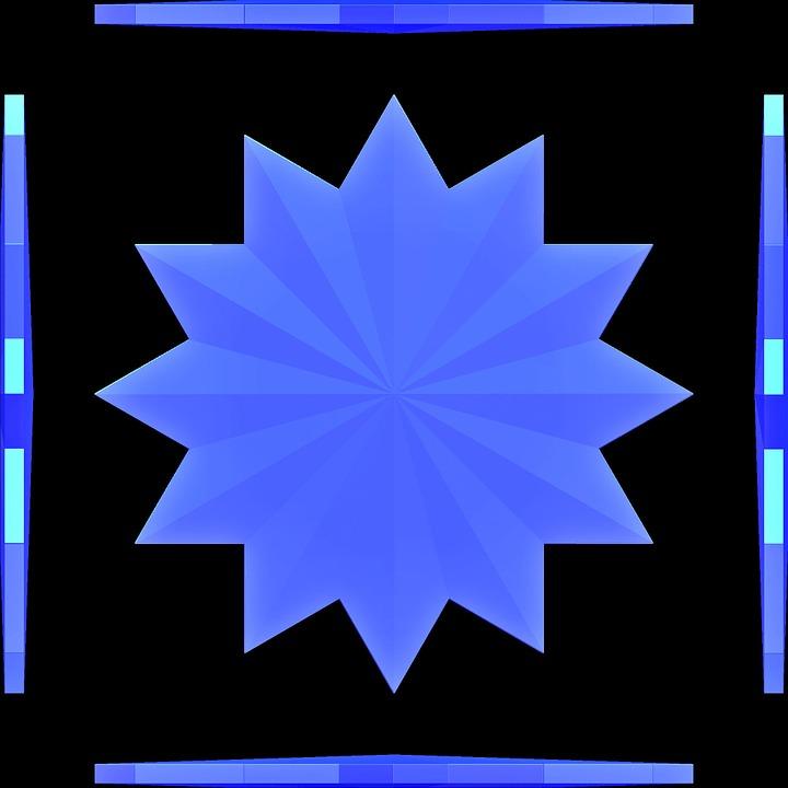 Blue, Graphic, Design, Art