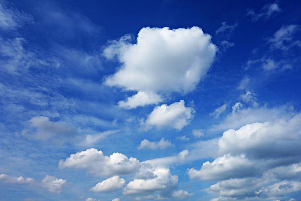 Sky, Blue, Cloud, Blue Sky Clouds, Cumulus, Atmosphere