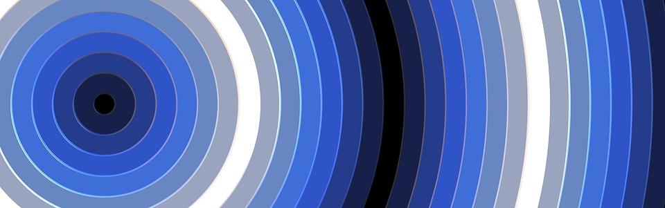 Banner, Background, Waves, Curves, Colour, Blue Banner