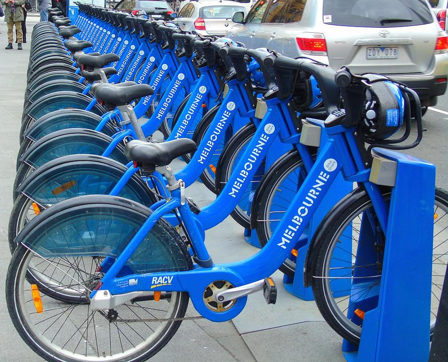 Bike, Bicycle, Transport, City, Cycle, Wheel, Blue