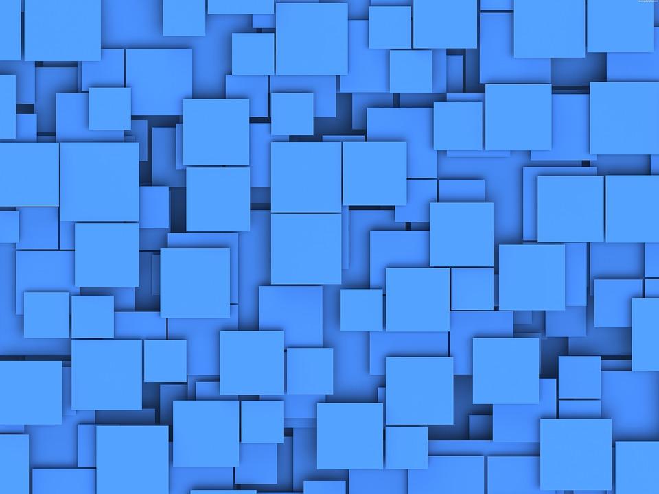 Boxes, Blue, Box, Background, Texture, Square, Blue Box
