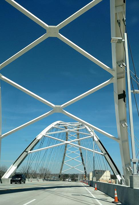 Bridge, Sky, Travel, City, Architecture, Landmark, Blue
