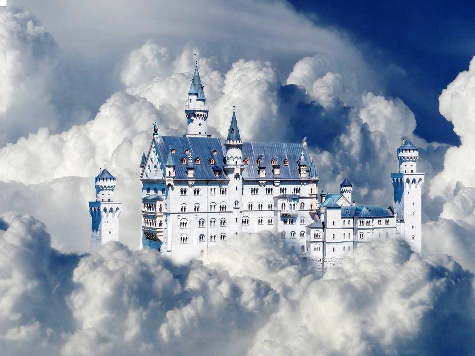 Sky, Cloud, Cumulus, Blue, White, Cloud Formation