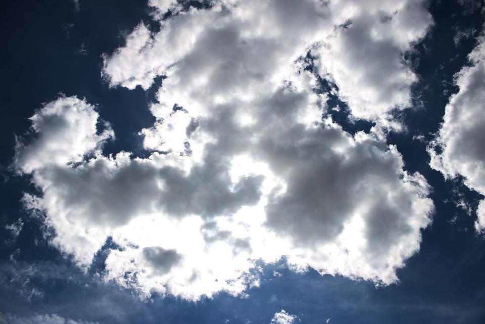 Sky, Cloud, Blue, White, Sun, Atmosphere, Nature