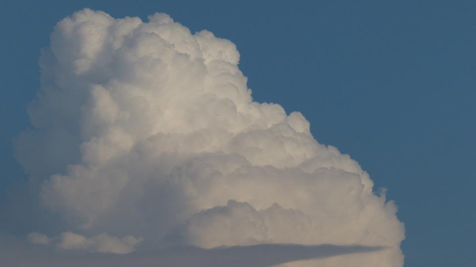 Cloud, Cumulus Clouds, Cumulus, Thunderstorm, Sky, Blue