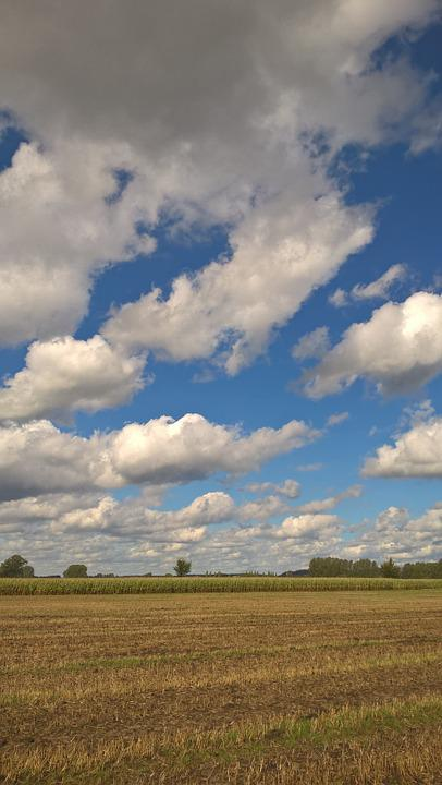 Clouds, Sky, Blue, Clouds Form, White, Enormous