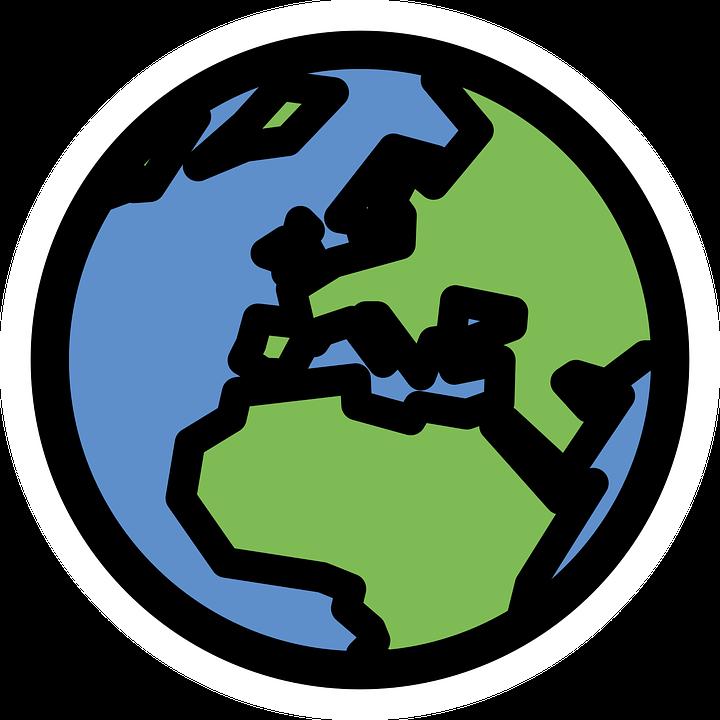 World, International, Earth, Planet, Blue, Continent