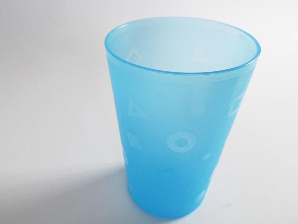 Cup, Plastic Cups, Drink, Beverages, Colorful, Blue