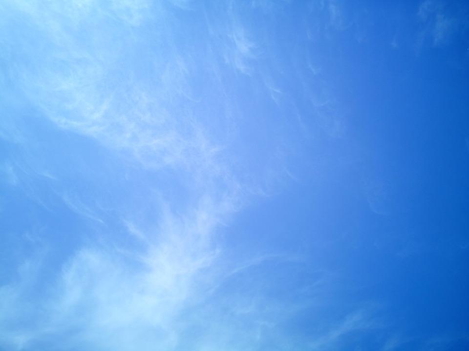 Sky, Firmament, Blue, Background, Texture, Nature