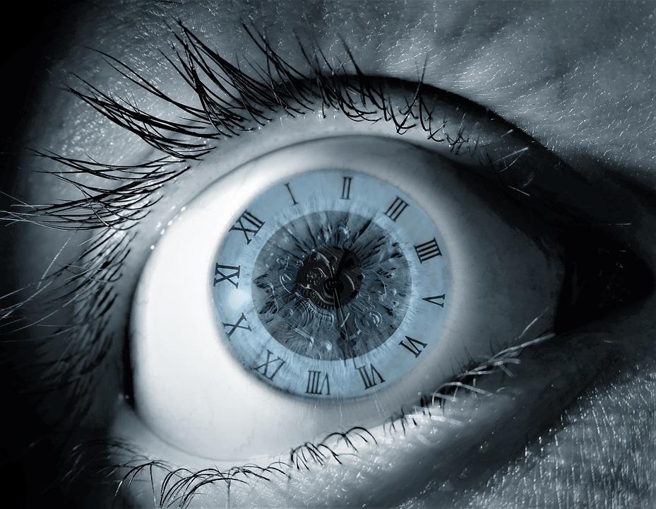 Free Photo Blue Human Watch Fantasy Time Eye Clock Max Pixel