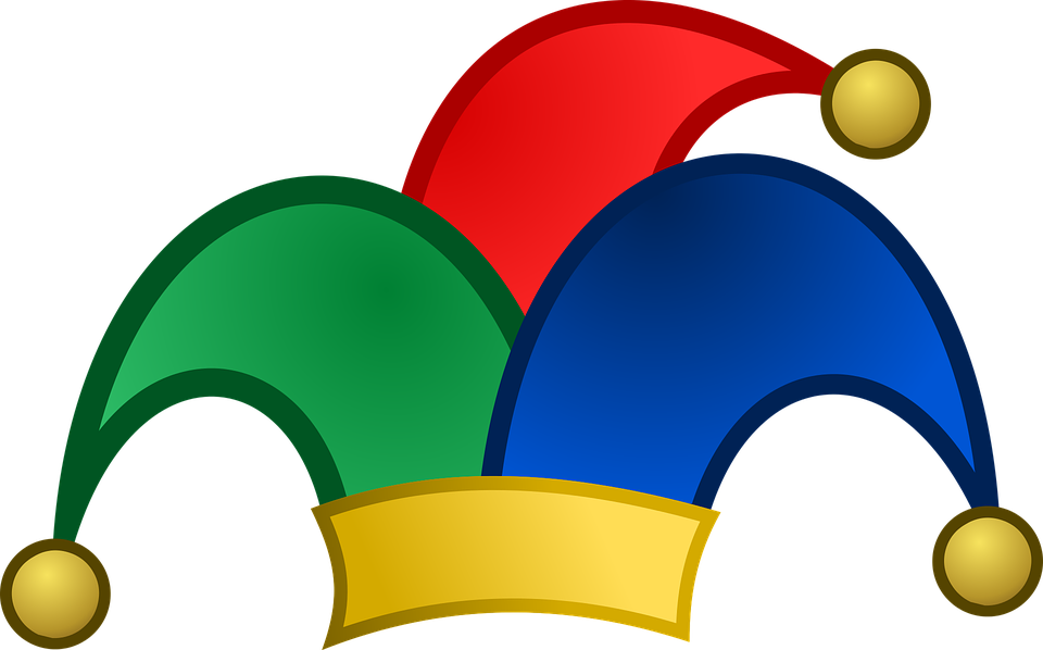 Bells, Blue, Fool, Fool's Hat, Green, Hat, Icon, Jester