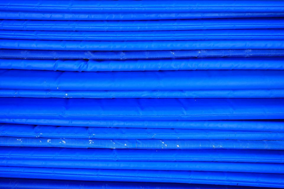 Matting, Blue, Sleeping Mats, Material, Deck Chair
