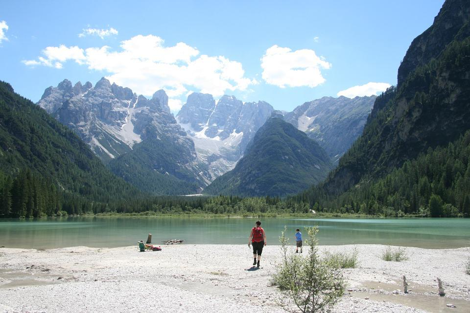 More, Mountains, Blue, Landscape, Nature, Dolomites