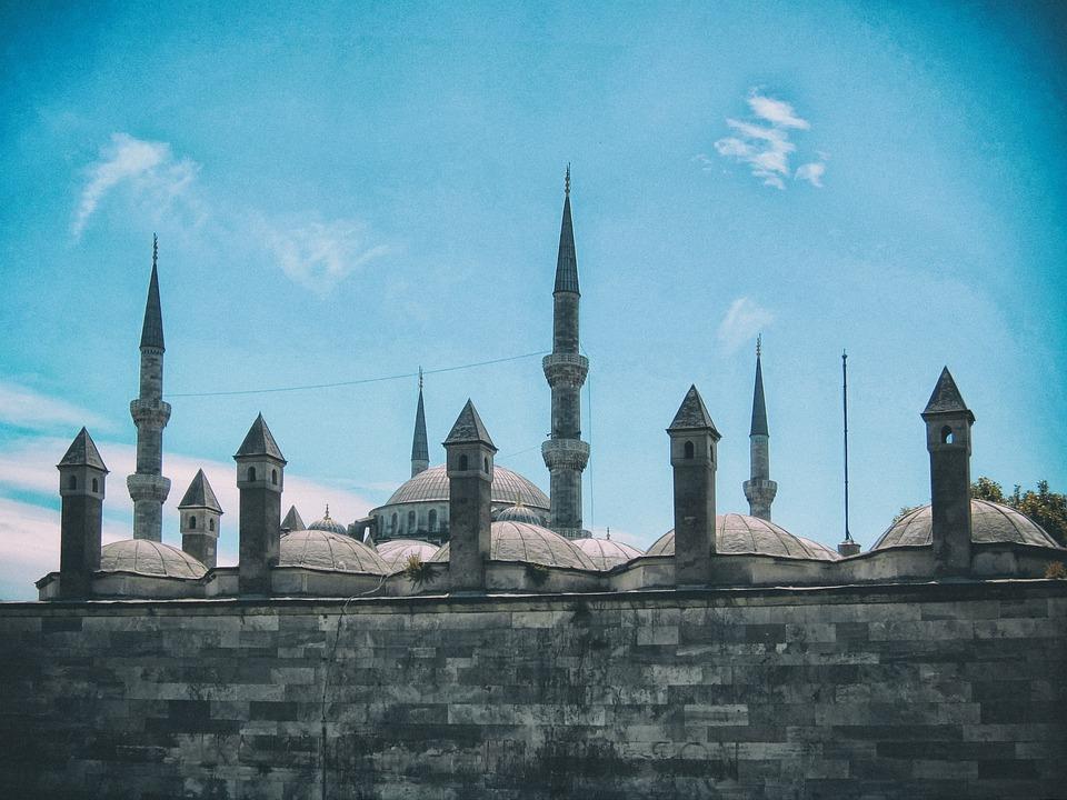 Istanbul, Turkey, Blue Mosque, Islam, Architecture