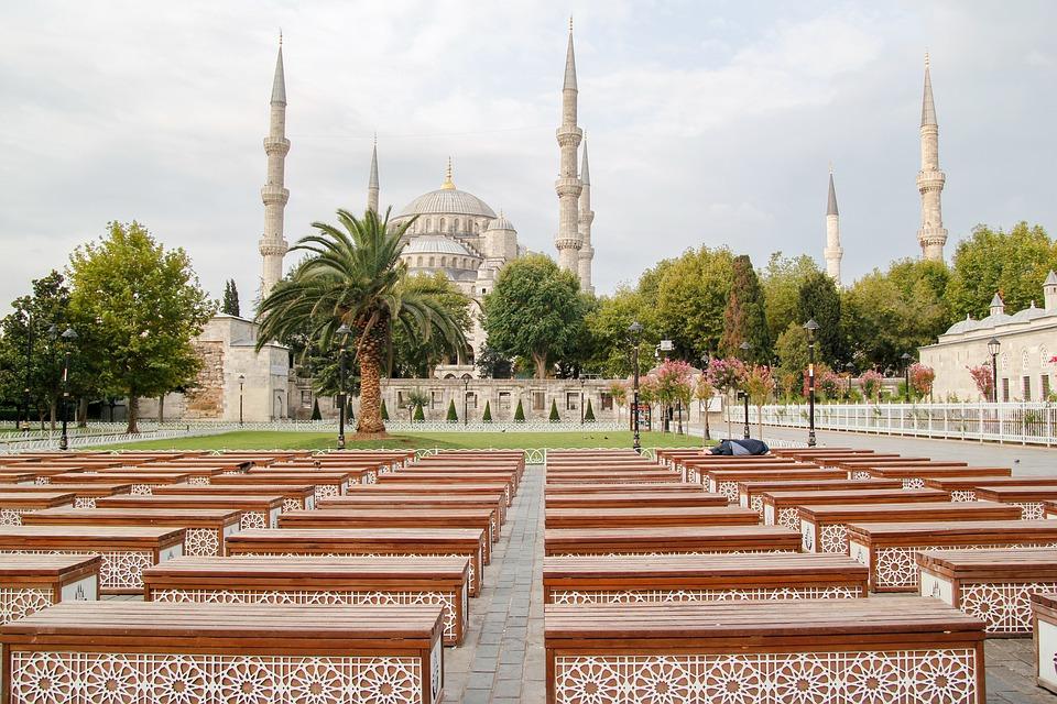 Istanbul, Blue Mosque, Turkey, Sultanahmet