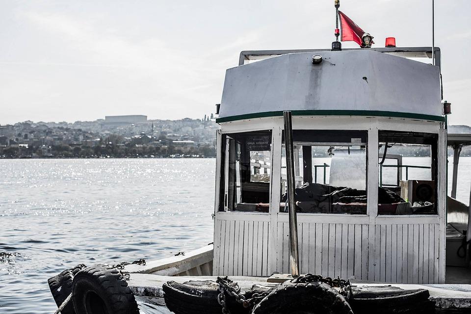 Boat, Marine, Turkey, Istanbul, Blue, Nature, Landscape