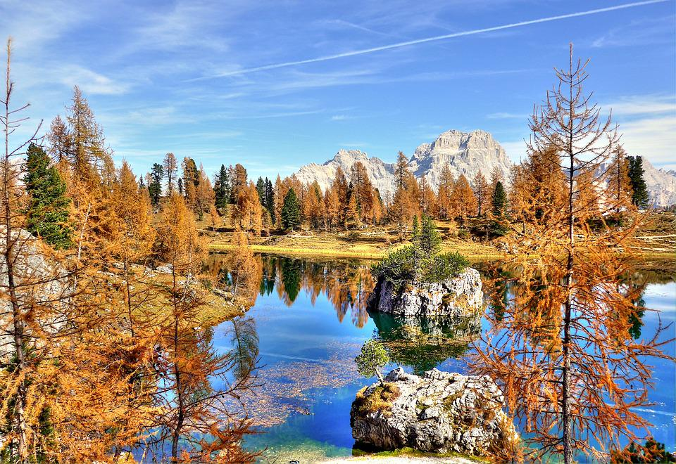 Sorapis, Dolomites, Alm, Nature, Blue, Summer, Rock