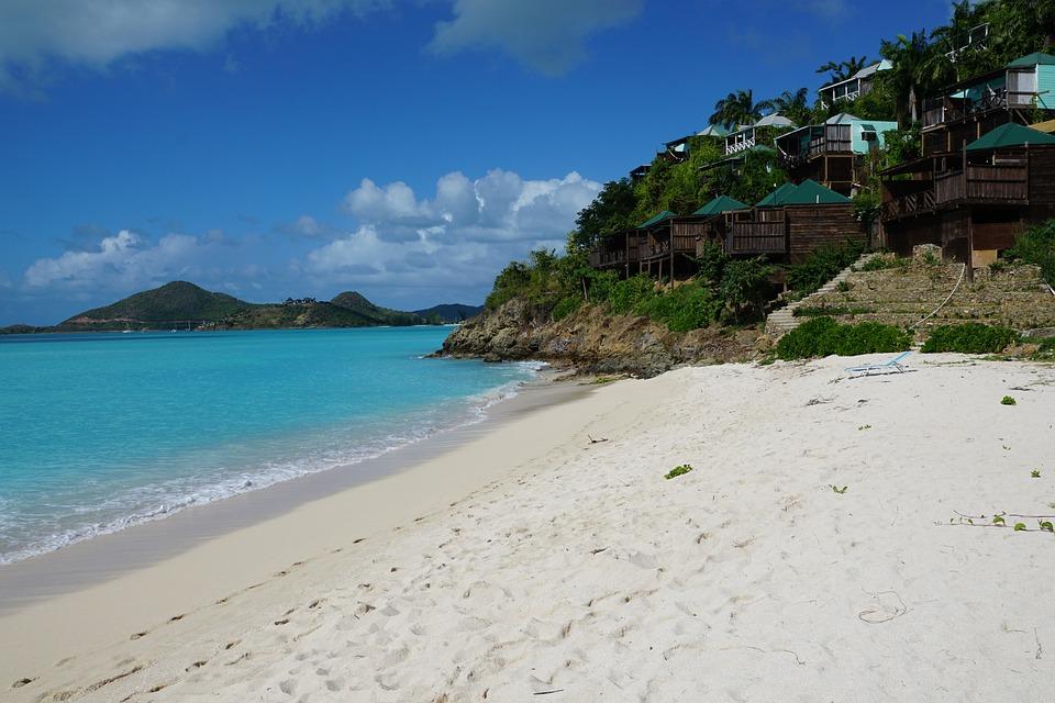 Antigua, Caribbean, Beach, Sea, Ocean, Blue, Paradise