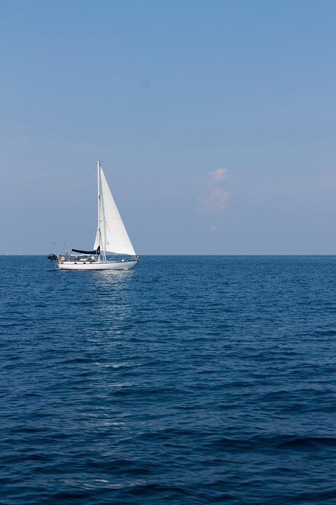 Free photo Sky Water Blue Ocean Nature Sea - Max Pixel