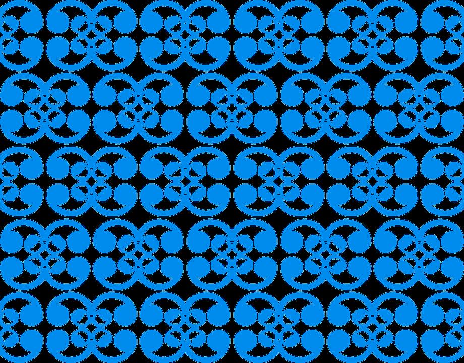 Pattern, Blue, Ornaments