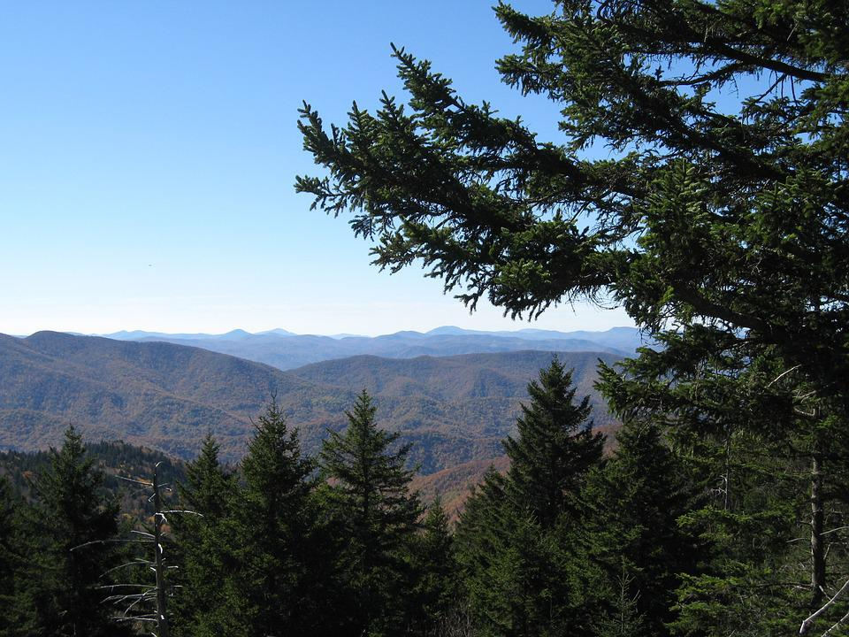Blue Ridge Parkway, Blue Ridge Mountains, Mountains