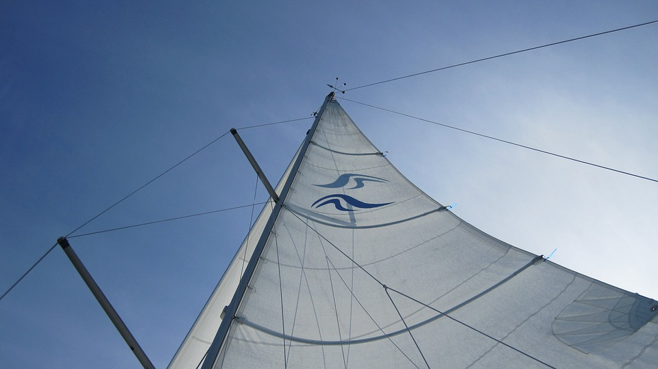 Sail, Sky, Holiday, Blue, Rigging, Mast, White