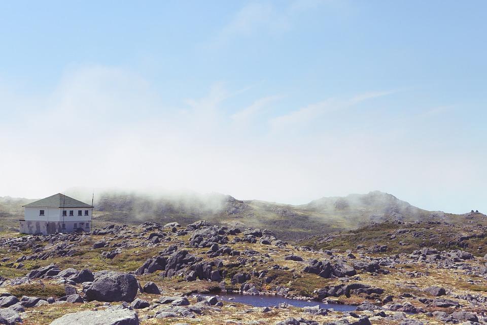 Rocks, Field, Landscape, Blue, Sky, Nature, Outdoors