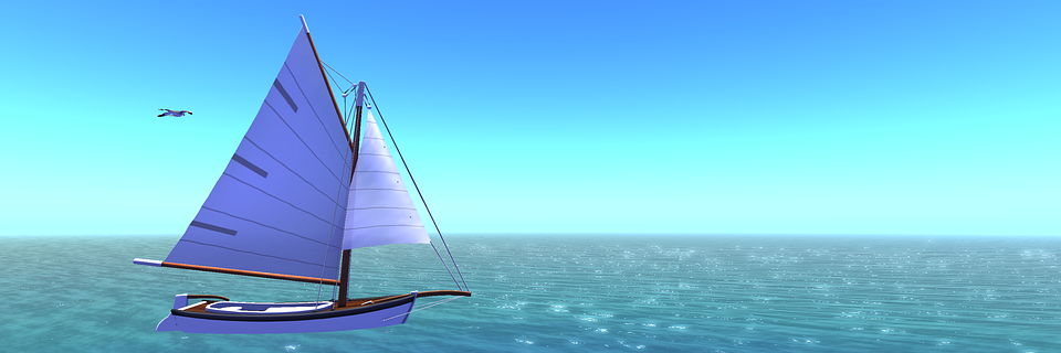 Sailing Vessel, Water, Sky, Blue