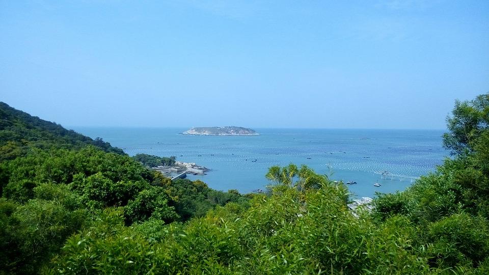 Nan Ao Island, Aquaculture, Blue Sea, Reef