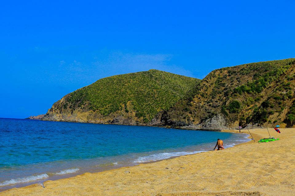 Skikda, Algér, Summer, Beach, Holidays, Blue, Sea