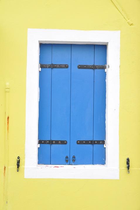 Window, Shutter, Wooden Windows, Blue, Blue Window