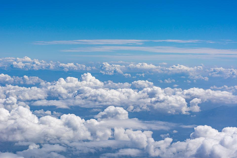 free photo blue sky background cloud air sky max pixel