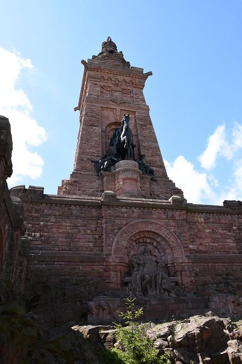 Barbarossa Monument, Monument, Blue Sky, Sky, Blue